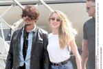 Johnny Depp tloustne! S ženou se ale nerozchází!