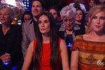 Demi Moore fandila své dceři v každém kole soutěže.