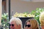 Richard Gere před Vary relaxuje s přítelkyní v Itálii