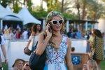 Paris Hilton na festivalu Coachella