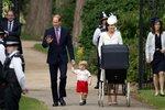 Dnes poprvé se na veřejnosti ukázala celá královská rodina.