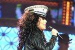 Cher na svém turné minulý rok. I takovýto kostým si při své show oblékla.