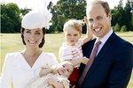 První oficiální fotografie královské rodiny. Na fotografii jsou dva následníci trůnu.