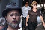 Brad Pitt se konečně oholil a zase vypadá k světu!