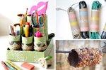 5 kreativních vychytávek z ruliček od kuchyňských utěrek