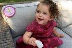 Elizabella oslavila své první narozeniny.