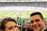 Alyssa s manželem Davidem.