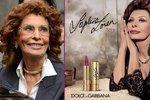 Sophia se dočkala vlastní rtěnky, kterou pro ni navrhlo návrhářské duo Dolce & Gabbana.