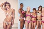 Rosie Huntington-Whiteley navrhla spodní prádlo pro ženy s rakovinou prsu