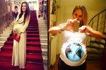 Týden na síti: Absolonová s břichem jako zeměkoule, Solaříková s kolečkem