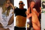 Instagram naplnily pekáče buchet a prsa: Co odhalil Brosnan mladší a Dita Von Teese?
