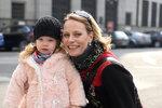 Kristina s dcerkou.