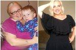 Heather zhubla přes šedesát kilogramů a dodalo jí to sebevědomí.