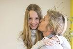 Neumannová s dcerou Luckou
