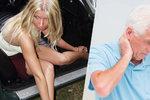 Prostitutka z pětasedmdesátiletého stařečka vymámila jeden a půl milionu: Bylo mu jí líto
