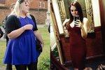 Victoria zhubla za dva a půl roku 50 kilogramů.