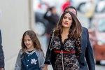 Salmě Hayek (49) bylo 40 let, když porodila svou první dceru Valentinu.