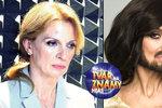 Ivana Chýlková, hvězda loňské řady show Tvoje tvář má známý hlas, se cítila v kůži slavných hudebníků trochu trapně