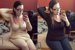 Amanda sice zhubla a oblečená vypadá skvěle, v prádle je to ale horší.
