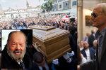 Pohřbili Buda Spencera (†86), jeho kamarád Terence Hill se nad rakví usmíval