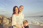 Alanis Morissette, její manžel Mario Souleye Treadway se synem