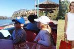Exmanžel Maurerové odjel s dětmi za hranice: Užívají si na Madeiře