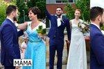 Petr Rychlý oženil syna Matěje! Ženicha hlídala celou dobu policie