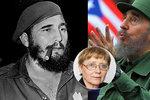 """S Fidelem Castrem na Kubě mluvila Češka. """"Unavený muž, co sám sebe nabíjí"""""""