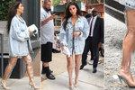 Kim Kardashian se ukázala v průhledných kozačkách! Nožky musí být vidět
