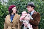 Marion Cotillard ve filmu Spojenci s Bradem Pittem.
