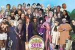 Klub ztracených hvězd! Podívejte se na unikátní koláž s osobnostmi, které zemřely v roce 2016