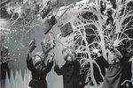 Takto vypadaly Vánoce v Kotvě.