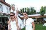 Mahulena Bočanová, Viktor Mráz a dcera Márinka. takhle vypadala rodina, když byla stále pospolu.