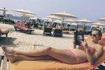 Celebrity na síti: Kvitová v Dubaji a zákulisí přehlídky Victoria´s Secret