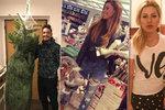 Vánoční šílenství celebrit: Hrdlička chystá fešáka, Ochotská s Perkausovou ztracené mezi cukrovím
