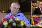 Zeman řekne velkou věc v den boje Sobotky, výročí Tibetu a narozenin bin Ládina