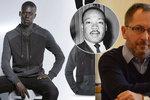 """Hermanův mág z Twitteru: """"Za právo černochů být na letácích bojoval už King."""""""