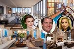 Luxus jako z pohádky: Takhle bydlí světové celebrity. Podívejte se!