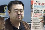 Kim Čong-nama zabila nervová látka VX. Oběť po ní dostane křeče a udusí se