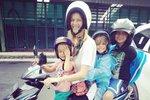Helena Houdová se svými dětmi.