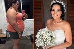 Bridie zhubla 60 kilogramů, aby byla ve svatební den krásná.