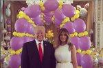 Donald s Melanií dorazili na velikonoční mši