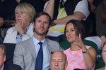 Pippa Middleton a její nastávající James Matthews.