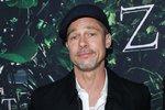 Brad Pitt na premiéře filmu Ztracené město Z