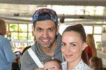 Petr Vojnar s manželkou a synem Sebastianem.