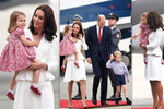 Královská rodina na návštěvě v Polsku: Kate oslnila  šaty za 60 tisíc