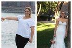 Kvůli svatbě shodila 50 kilogramů