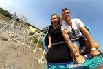S partnerem v zábavním parku