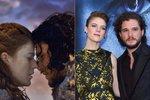 Hvězdy seriálu Hra o trůny Kit Harington a Rose Leslie chystají svatbu