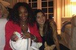 Serena Williams se pochlubila holčičkou